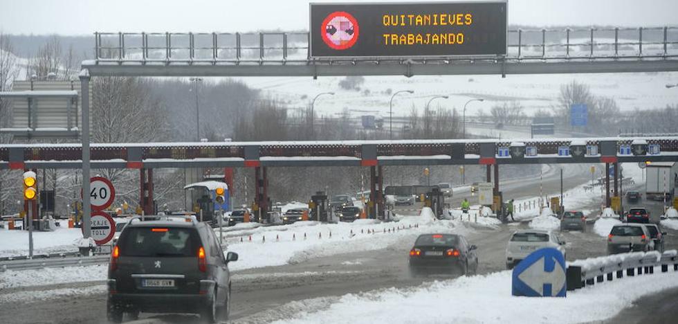 La concesionaria de la AP-1 ya indemnizó a los condutores por una nevada en Burgos en 2004
