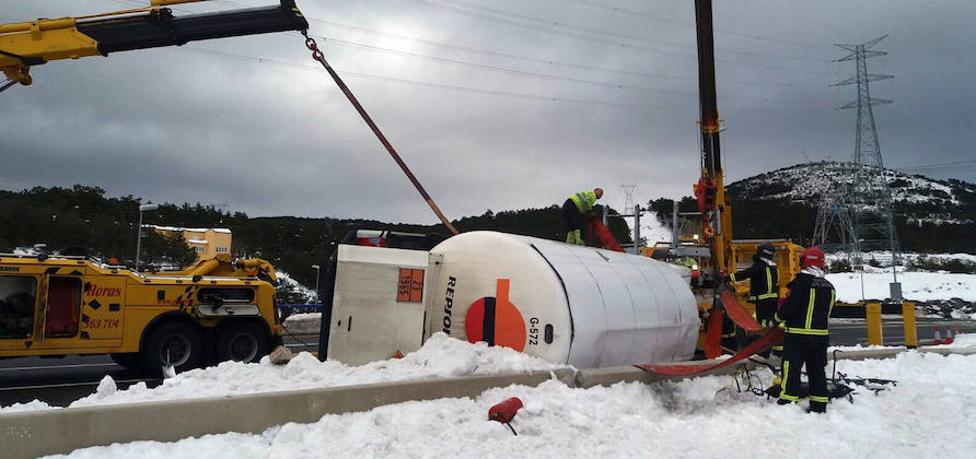 Cómo se frenó la fuga de gas propano en la AP-6