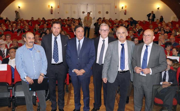 Acto conmemorativo del 40 aniversario del Hospital Clínico Universitario de Valladolid