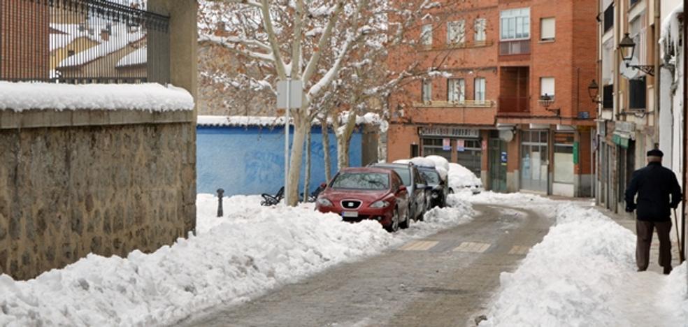 Ávila espera paliar la sequía con la reciente nevada