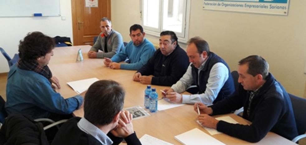 Aporno y Asaja Soria inician acciones conjuntas ante los cambios normativos en los purines