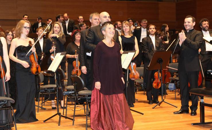 El Miguel Delibes rinde un cálido homenaje a Maria Joao Pires