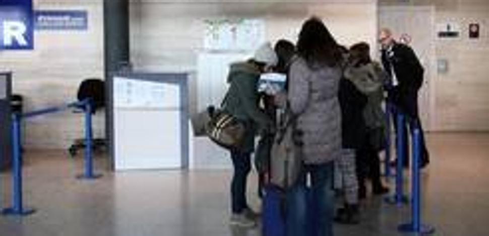 El aeropuerto de Valladolid redujo un 1,98% sus usuarios en 2017