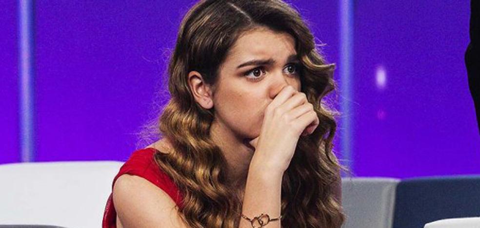 Amaia no soporta la presión de 'Operación Triunfo'