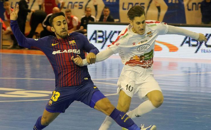 Las imágenes del partido entre el Naturpellet Segovia y el FC Barcelona Lassa