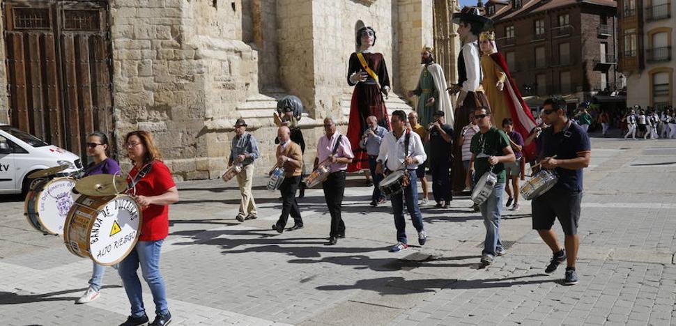 Las fiestas de Palencia coincidirán este año con las de Valladolid
