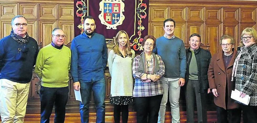 Entregados los premios del concurso de belenes de Palencia