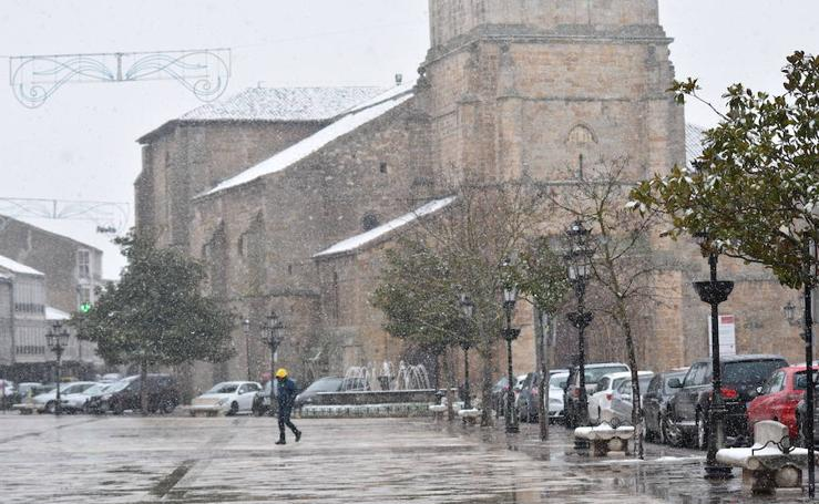 Nieva en Aguilar