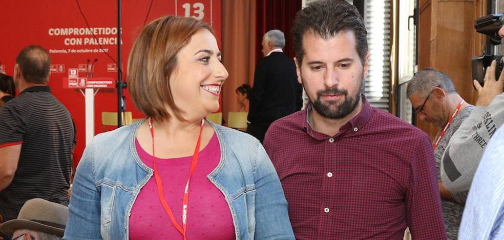 Tudanca apela en Dueñas a la unidad de los socialistas para cambiar el Gobierno de la Junta