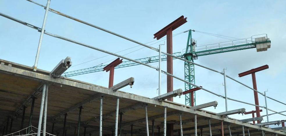 El Ayuntamiento de Valladolid concedió en 2017 licencias para 515 viviendas