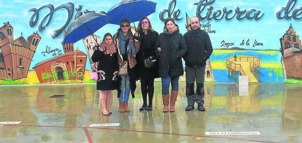 La Diputación de Palencia aporta 24.000 euros para pavimentar un camino en Autilla