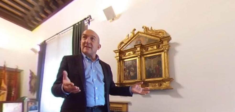 En el despacho de Jesús Julio Carnero: de Felipe II a Supertramp en 360º