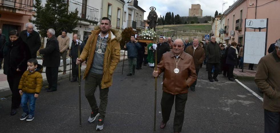 La parroquia de Santa Marina abre la ronda de San Antón con la bendición de animales
