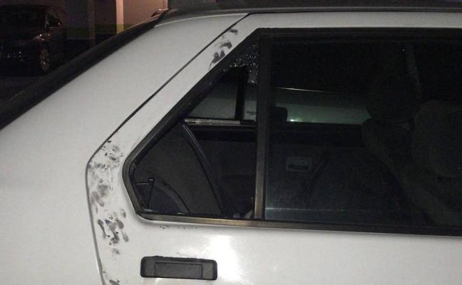Roba un coche en Parquesol y le detienen tras salirse de la carretera por la nieve en Ávila