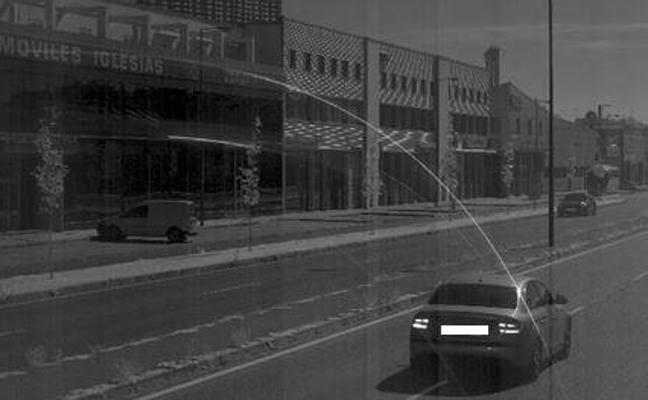 600 euros de multa y retirada de 6 puntos por conducir a 128 kilómetros por hora en Valladolid