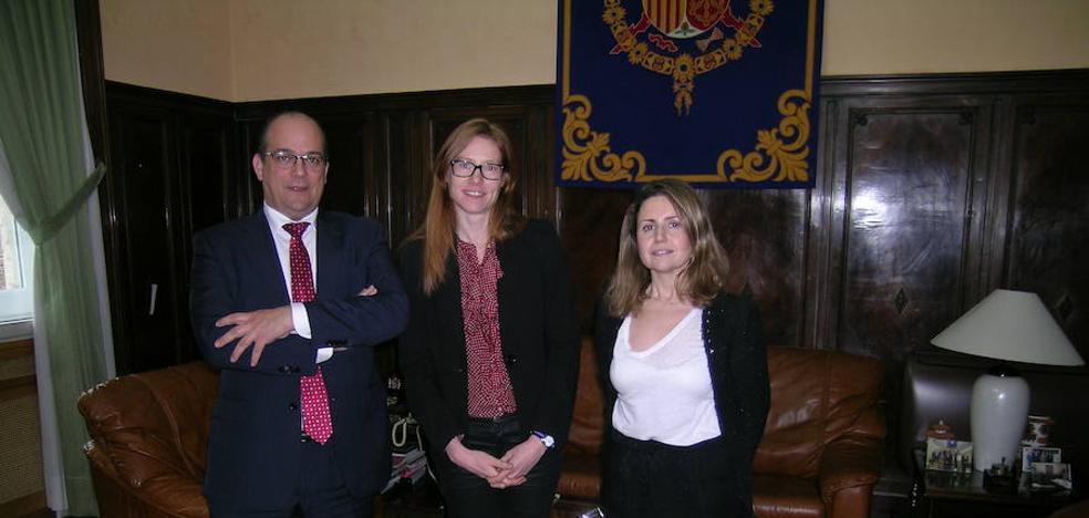 Concepción Aparicio, nueva directora del INSS en Palencia