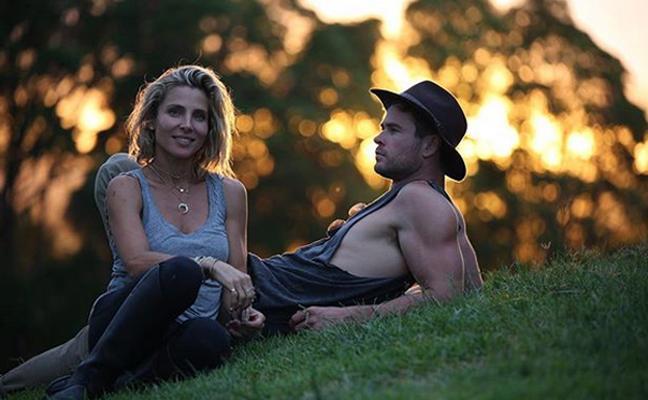 Chris Hemsworth sobre Elsa Pataky: «Es una superheroína de la vida real»
