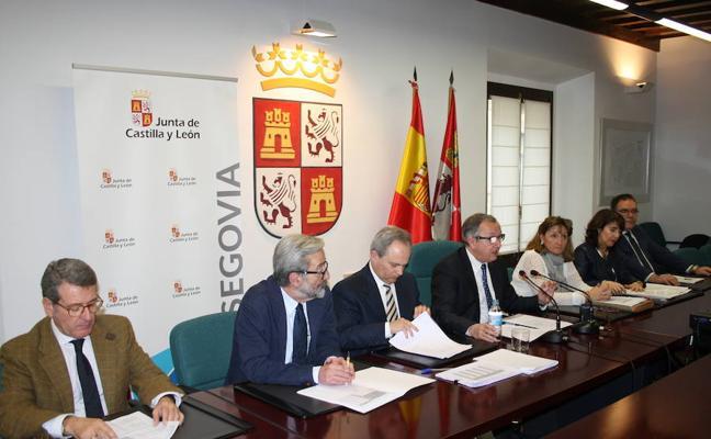 La Junta presume de «atención plena» a la dependencia en Segovia