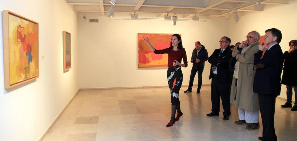 El Esteban Vicente inicia su vigésimo aniversario con una retrospectiva del pintor