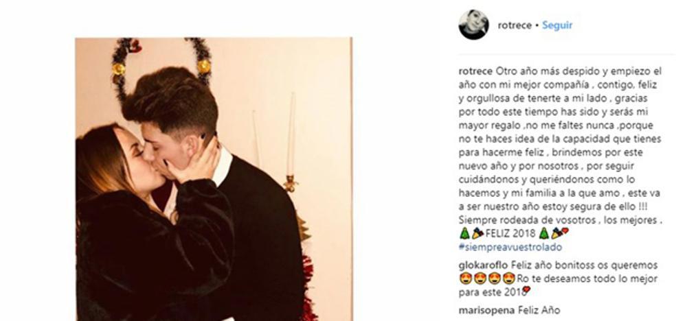Rocío Flores presenta a su novio