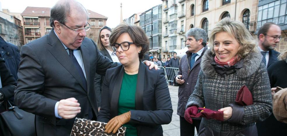 Herrera y Saénz de Santamaría inauguran el Congreso 'Think Europe Compromiso 2030'