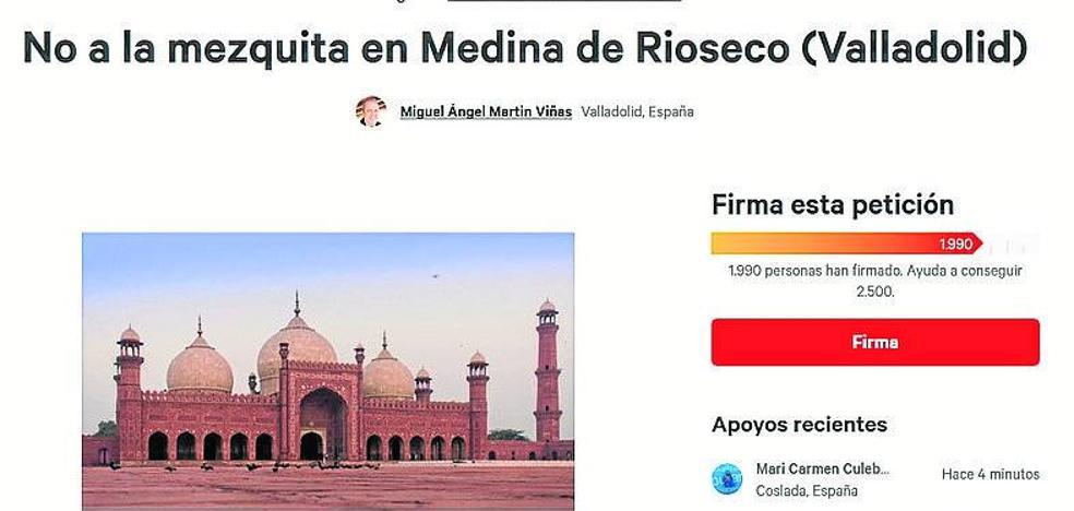Vecinos de Medina de Rioseco rechazan a través de Internet la creación de una mezquita