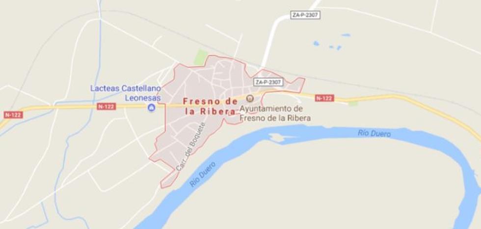 Fallece un joven de 29 años y otro varón resulta herido a la altura de Fresno de la Ribera