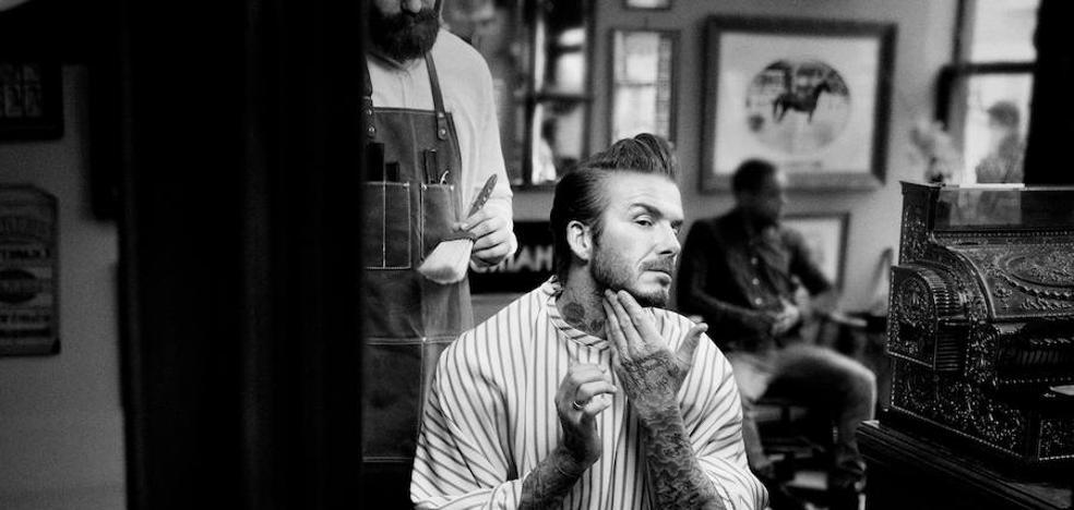 La nueva línea capilar de David Beckham se fabrica en Burgos