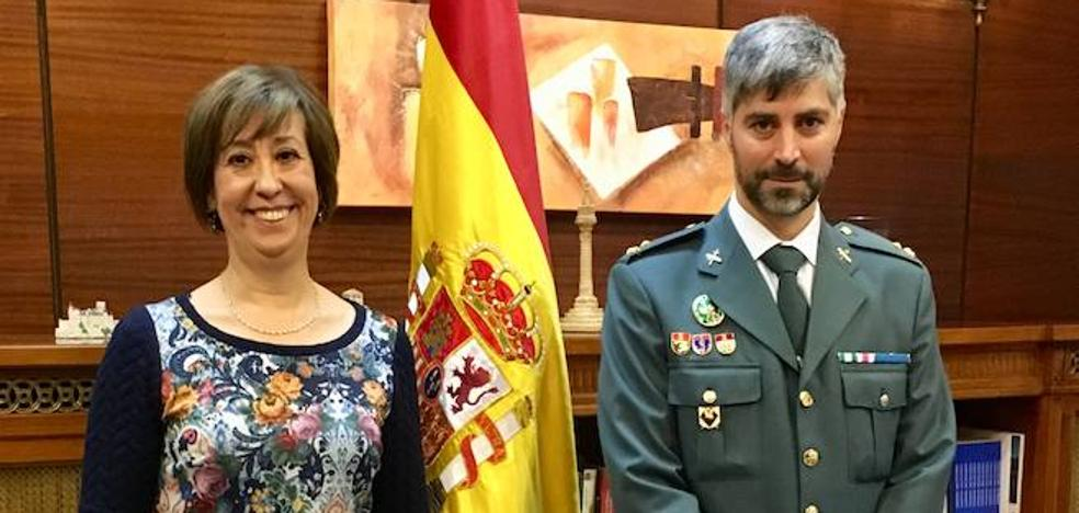 El capitán López Benito asume el mando del Subsector de Tráfico de la Guardia Civil