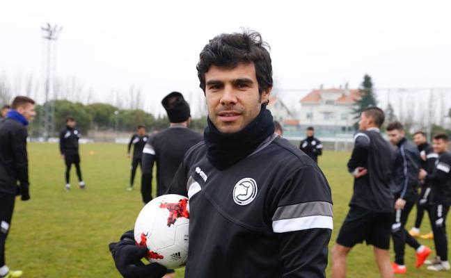 Jorge Alonso vuelve este jueves a los entrenamientos de Unionistas