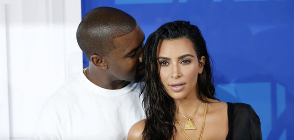 Kim Kardashian y Kanye West, padres de una niña