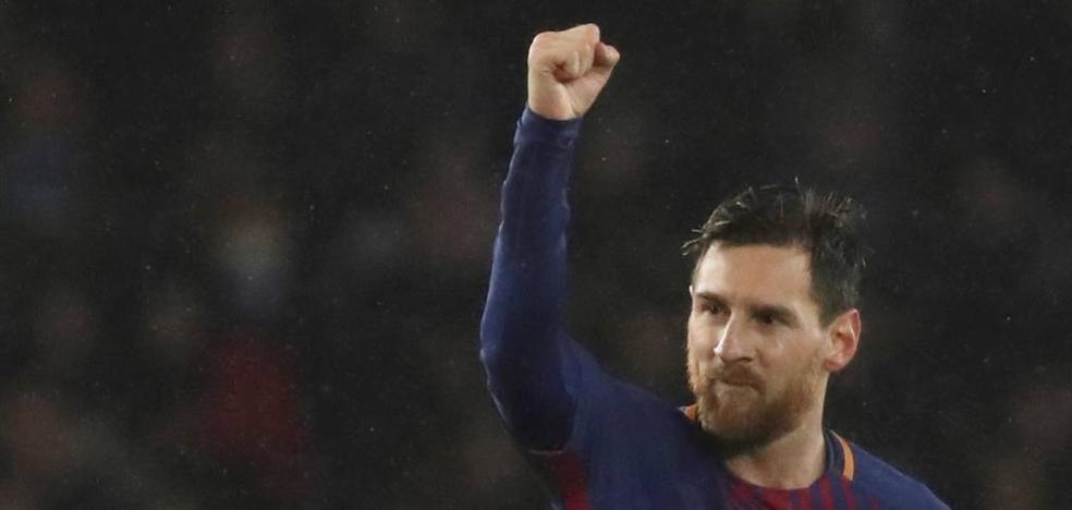 Messi lidera a los jugones de la Liga