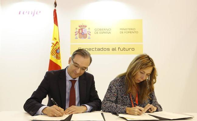 El Ayuntamiento prorroga con Renfe el acuerdo para promocionar Palencia
