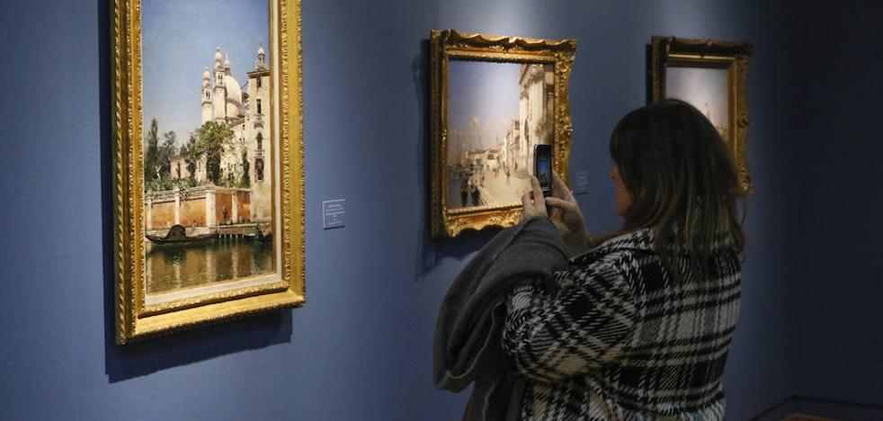 El VIII Centenario exhibe el legado de 36 pioneros de la pintura moderna española