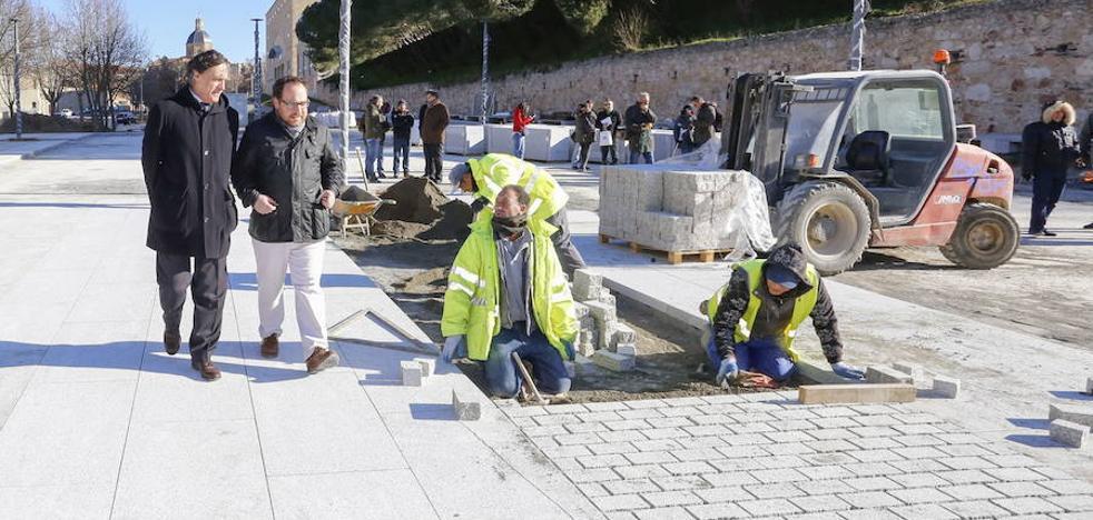 La renovación de las tuberías obliga a acometer más obras en la Vaguada de la Palma
