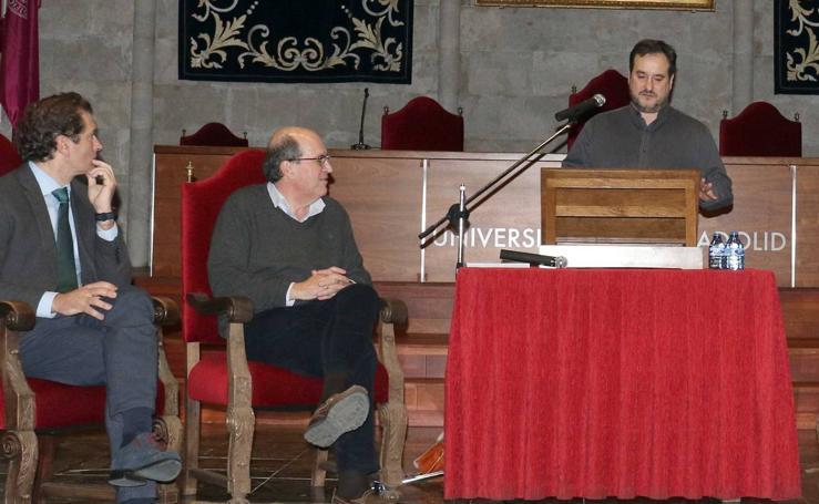 José María Antolín, en el Aula de Cultura de El Norte de Castilla