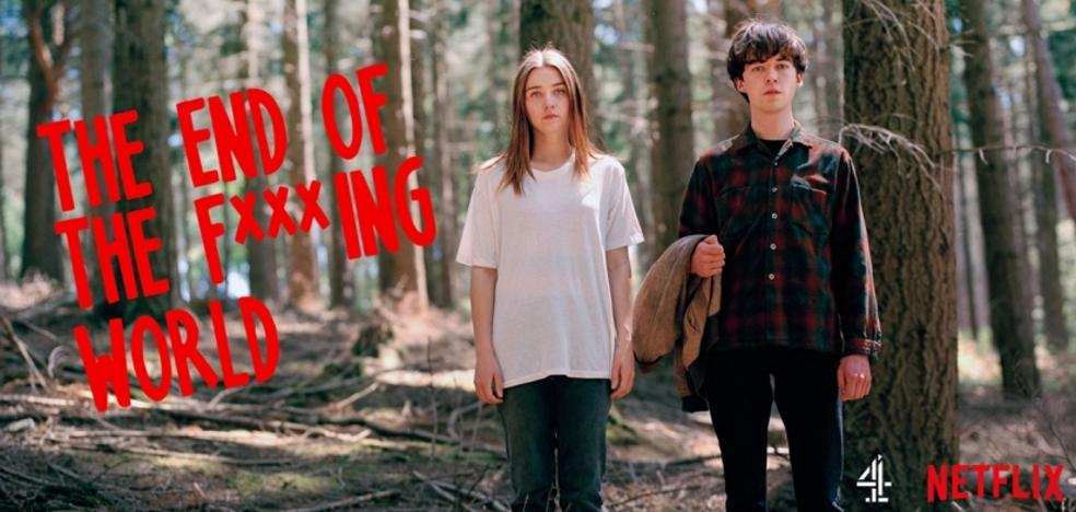 'The end of the f***ing world', la comedia negra postmillenial