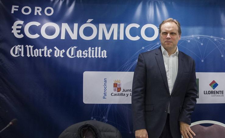 El economista Daniel Lacalle, en el Foro Económico de El Norte de Castilla