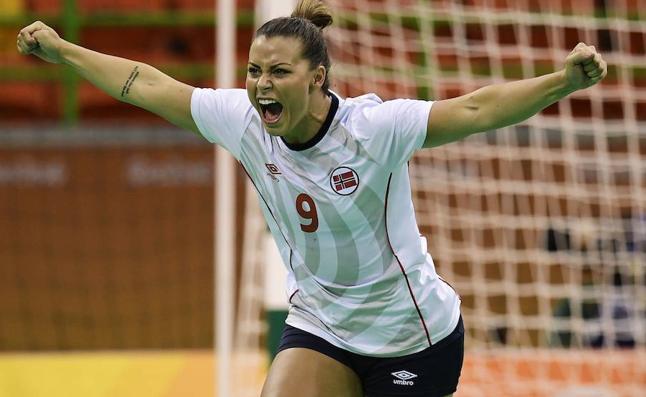 Las fotos de una jugadora noruega desnuda sacuden el Europeo masculino