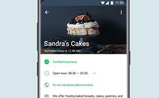 WhatsApp Business conecta pequeñas empresas con sus clientes