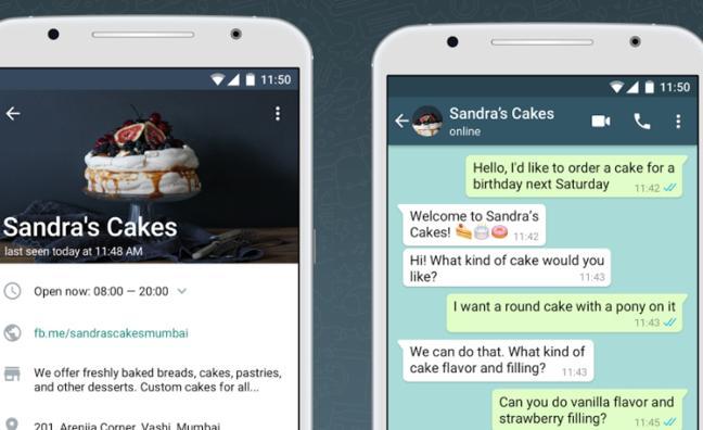 WhatsApp Business ya está disponible para pequeñas empresas