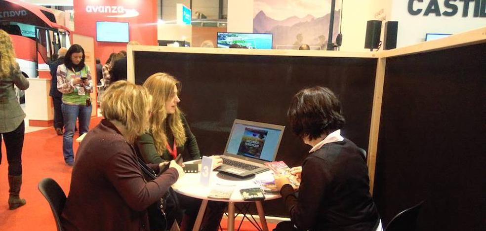 Empresas palentinas se dan a conocer en Fitur de la mano de la Diputación
