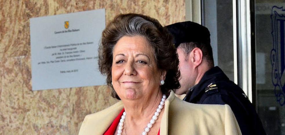 Rita Barberá, invitada por error a la inaguración del AVE Valencia-Castellón