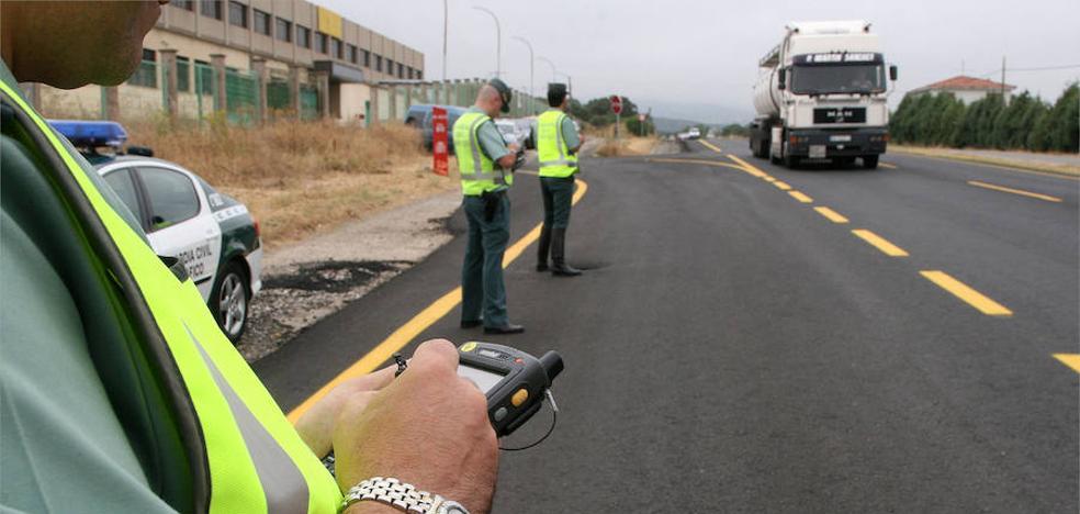 'Pillan' a un conductor por séptima vez conduciendo sin carnet