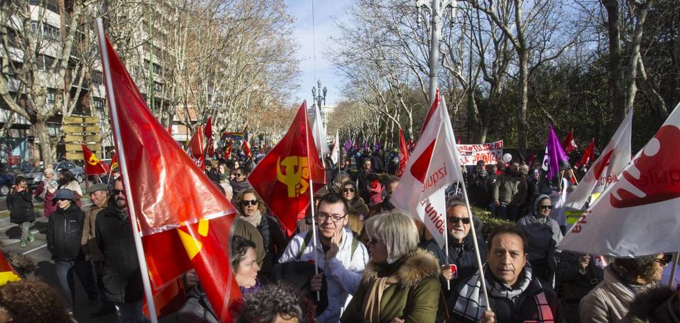 Multitudinaria manifestación en defensa de la Sanidad de Castilla y León