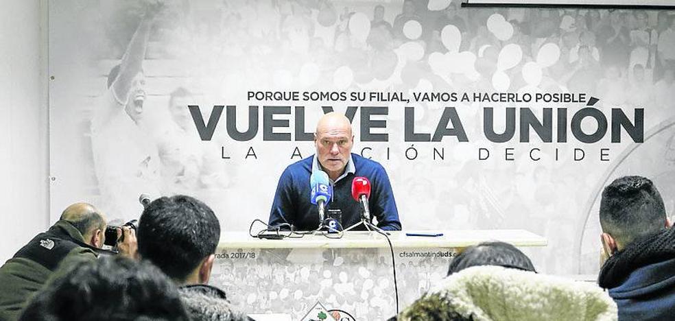 Calderé anuncia que el Salmantino tiene casi firmados tres nuevos fichajes