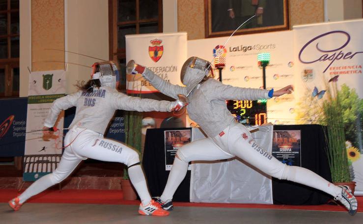 Campeonato del mundo de esgrima en Segovia