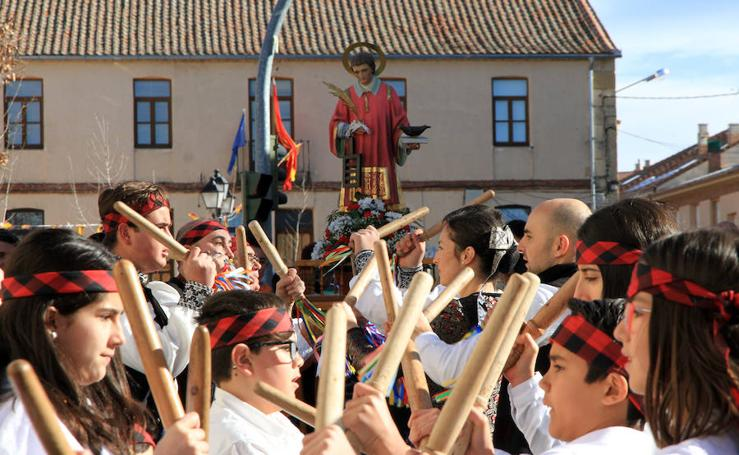 Fiestas de San Vicente Mártir en el barrio de Hontoria