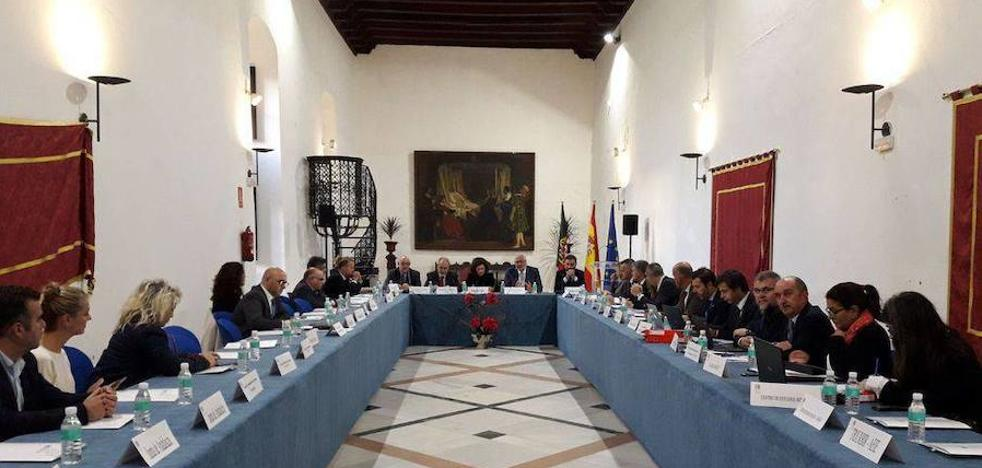 La Diputación apoya la propuesta de la RIET para un nuevo tratado transfronterizo
