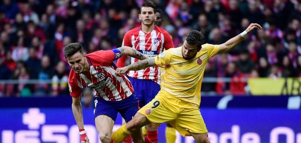 El Atlético vuelve a estrellarse contra el Girona